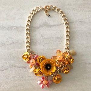 Zara Mustard Yellow Statement Necklace